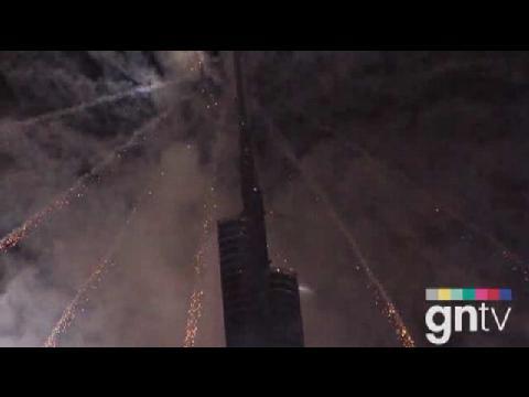 Iconic Burj Khalifa unveiled
