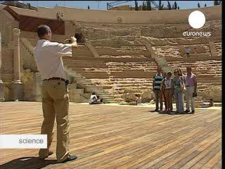 Cartagena's Roman theatre unveiled