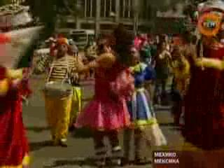 Mexico City holds International Clown Convention