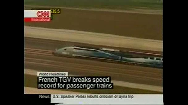 TGV World Speed Record